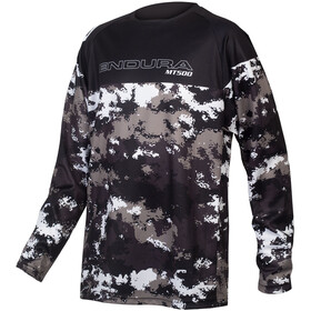 Endura MT500JR LS Jersey Kids, camouflage